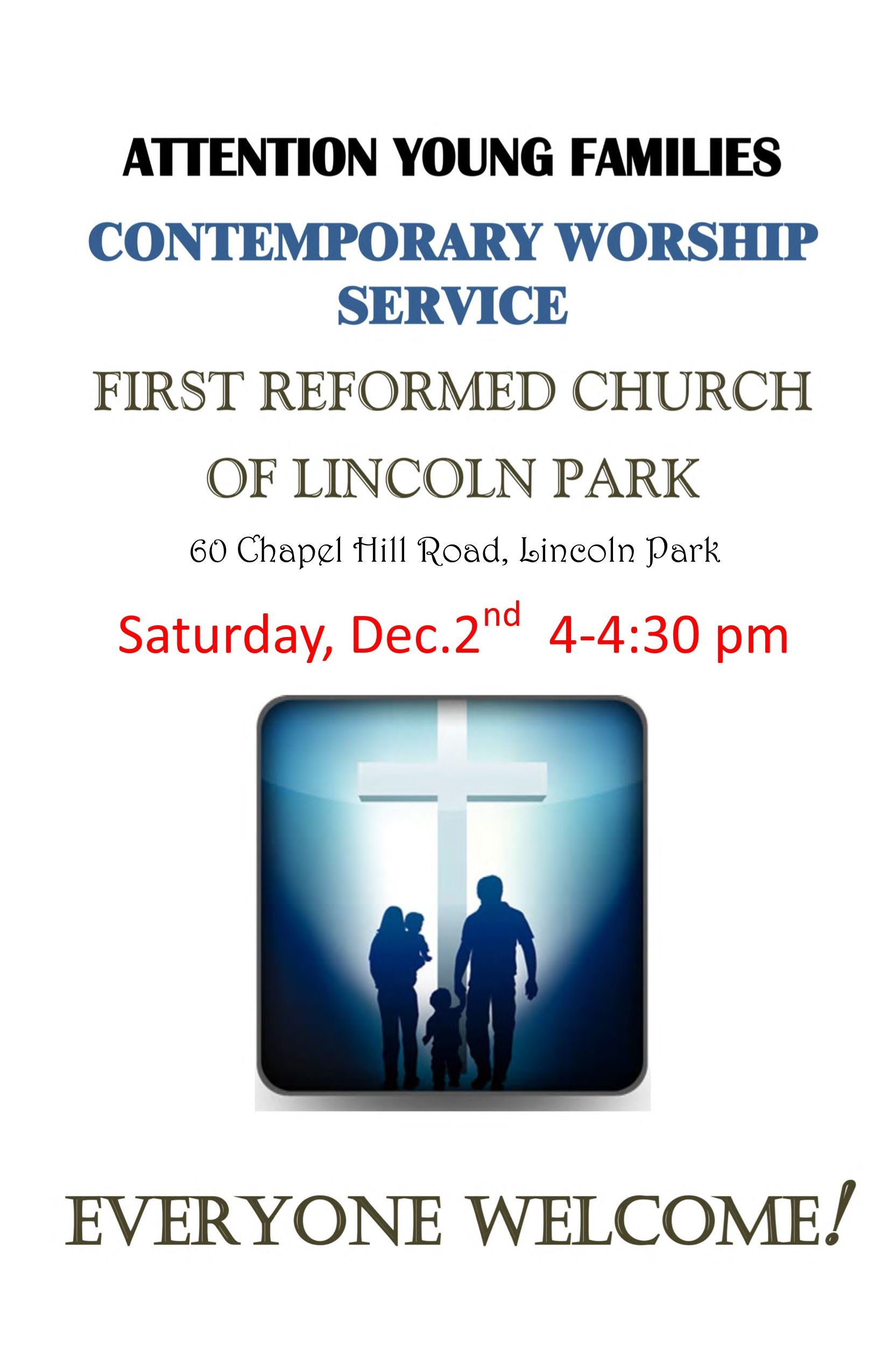 Saturday Service First Reformed