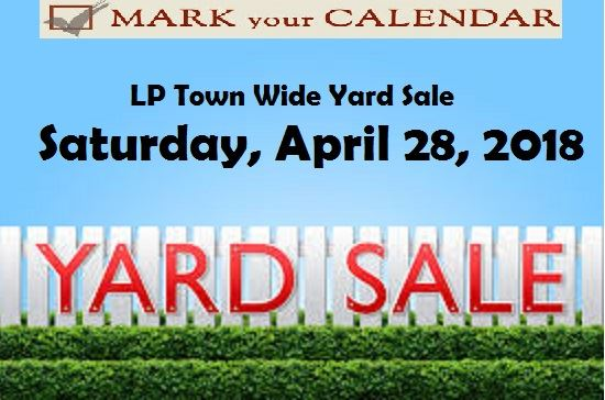 Yard Sale ad 2018