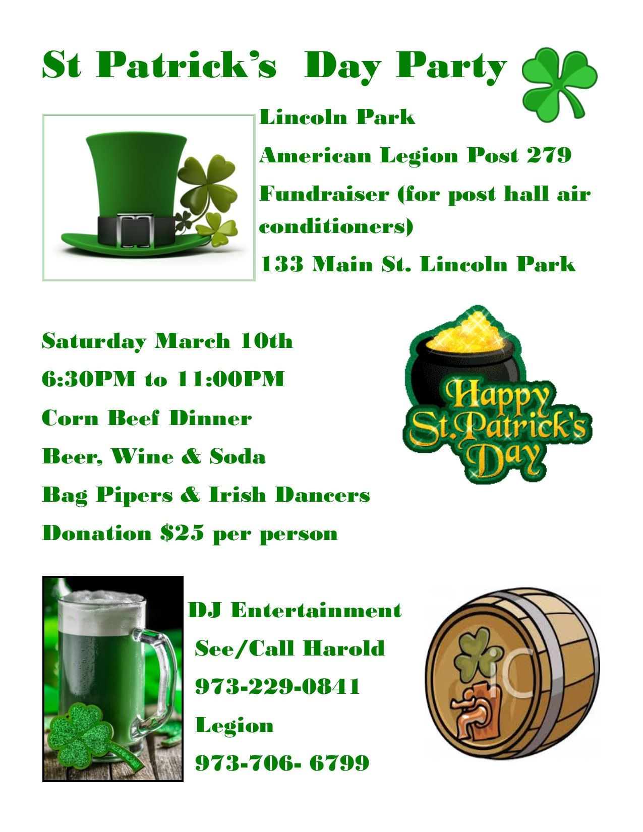 Amer Legion St. Patty