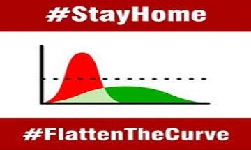 stay home flatten the curve