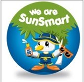 Sunsmart duck