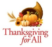 thanksgiving for all