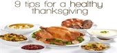 Tips for Healthy Thanksgiving