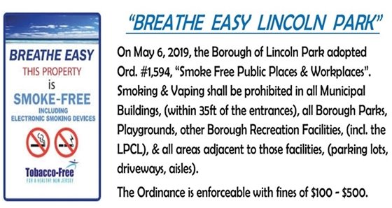 Breathe Easy - Ordinance 1594