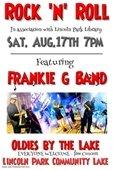 Frankie G Band at the Lake