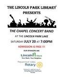 Concert at LP Community Lake