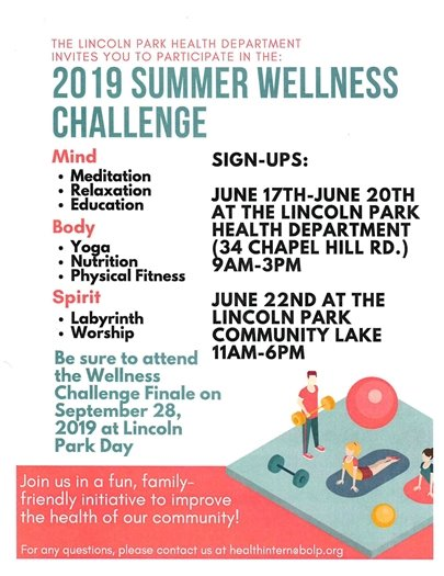 Summer Wellness Challenge