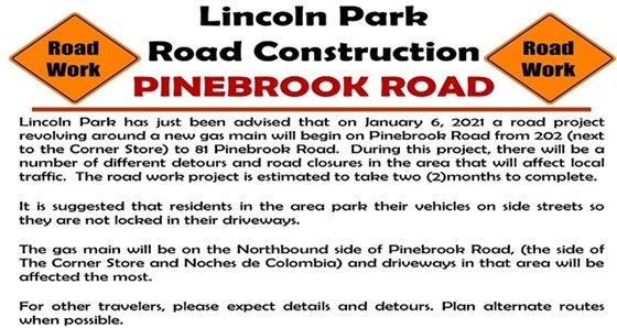 Pinebrook Road