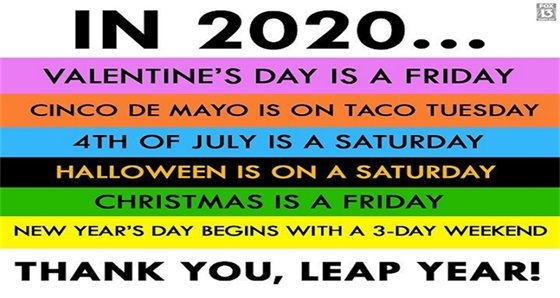 Thank You Leap Year