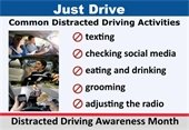 Distracted Driver - JUST DRIVE