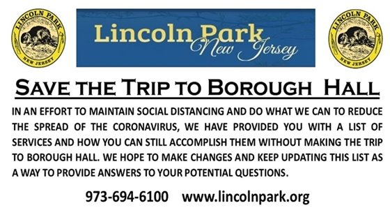 Save the Trip to Borough Hall and CALL