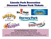 Theme park Ticket Ad