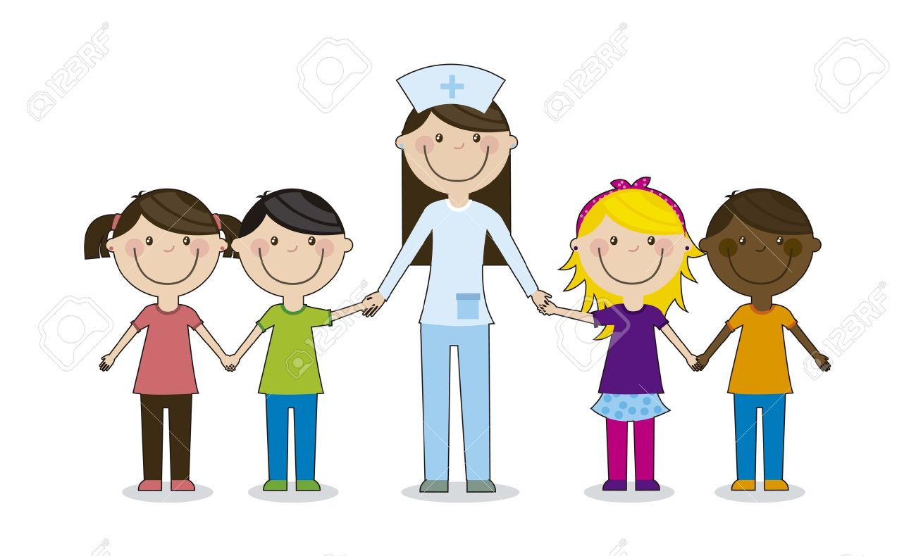 happy-group-children-with-doctor