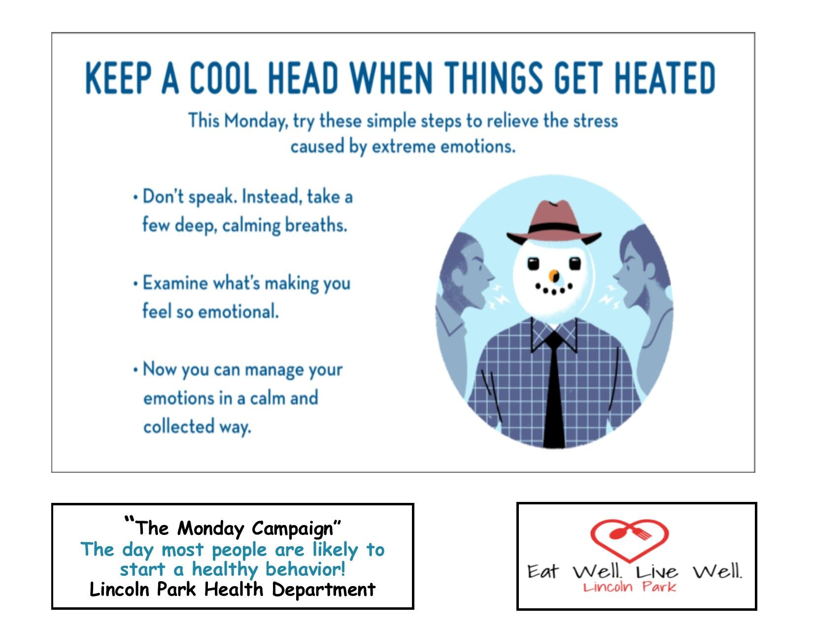 Healthy Monday 1-14-19 cool head